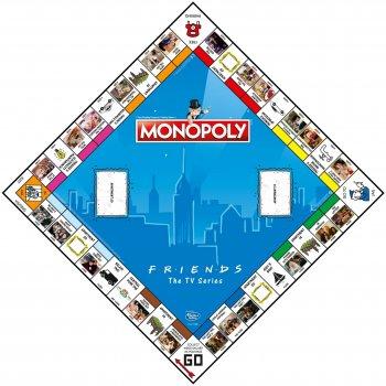 Настільна гра Winning Moves Монополія Friends (5036905027229)