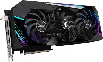 Gigabyte PCI-Ex GeForce RTX 3080 Aorus Master 10GB GDDR6X (320bit) (1710/19000) (3 х HDMI, 3 x DisplayPort) (GV-N3080AORUS M-10GD)
