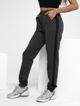 Спортивні штани ISSA PLUS 11502 Темно-сірі