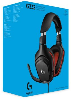 Наушники Logitech Wired Gaming Headset G332 Black (981-000757)