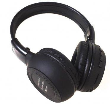 Навушники безпровідні Bluetooth Kronos N65BT Чорний (gr_011557)