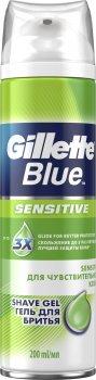 Гель для бритья Gillette Blue для чувствительной кожи 200 мл (7702018358403)