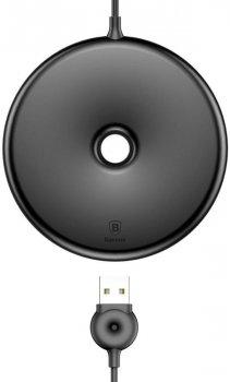 Бездротовий зарядний пристрій Baseus Donut Wireless Charger Black (WXTTQ-01)