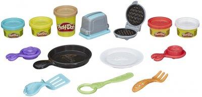 Игровой набор с пластилином Play-Doh Тосты и вафли (E7253_E7254)
