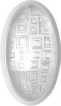 Світильник Ecostrum пластик білий Е27 40W 270х160х85мм IP20 (01-71-25)