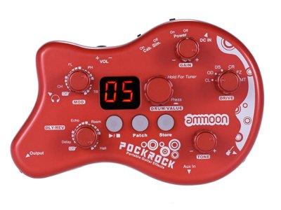 Гитарный процессор Ammoon Педаль эффектов PockRock Красный (1004-359-01)