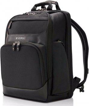 """Рюкзак для ноутбука Everki Onyx Premium Travel 15.6"""" Black (EKP132)"""