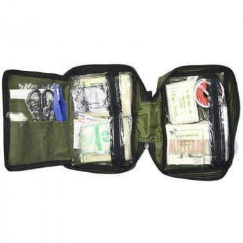 Аптечка Mil-Tec First Aid Kit (190х140х65мм), олива