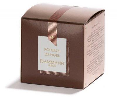 Чай Ройбуш Dammann Freres Рождественский в пакетиках 25 шт