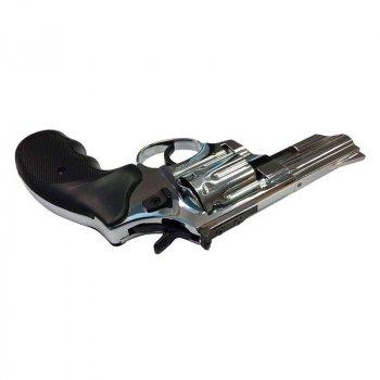 """Револьвер под патрон Флобера EKOL Viper (3.0"""", 4.0мм), яркий хром"""