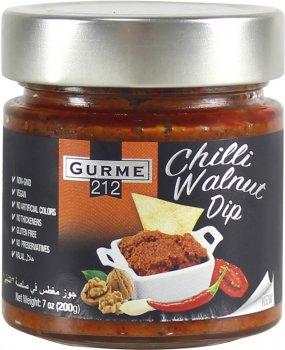 Перец чили Gurme 212 Chili walnut dip с грецким орехом 255 г (191822002393)