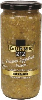 Баклажаны Gurme 212 Fire Roasted Eggplant Puree жареные на костре 500 г (191822000276)