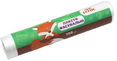Упаковка фасувальних пакетів Лис Борис 22х30 см 100 шт. х 6 пачок (4820151772207)