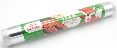 Упаковка фольги алюмінієвої Лис Борис 10 м х 4 шт. (4820199110283)