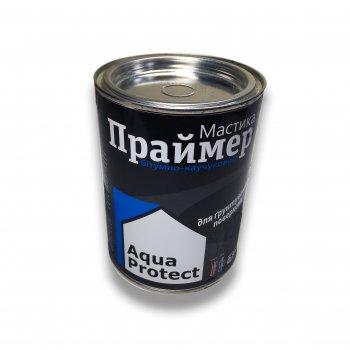 Мастика Праймер бітумно-каучуковий Aqua Protect чорна 0,8 кг (64025)