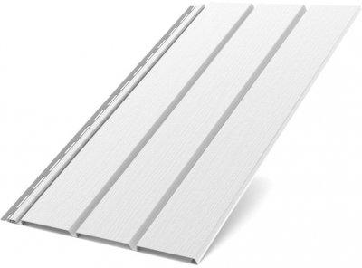Софіт BRYZA (4*0305 = 122 м²) Білий (80-001)
