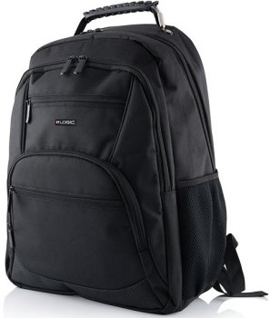 "Рюкзак для ноутбука Logic Concept Easy 2 15.6"" Black (PLE-LC-EASY2-15)"