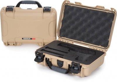 Захисний кейс для зброї Nanuk 909 Classic Pistol Tan (909-CLASG0)