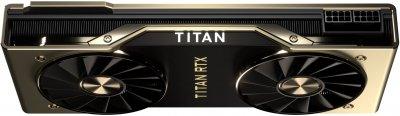 Nvidia PCI-Ex GeForce TITAN RTX 24GB GDDR6 (384bit) (1770/14000) (Type C, HDMI, 3 x DisplayPort) (TITAN RTX)