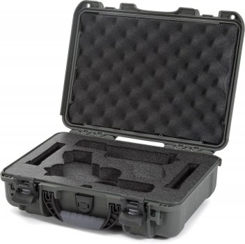 Захисний кейс для зброї Nanuk 910 Glock Pistol Olive (910-GLOCK6)