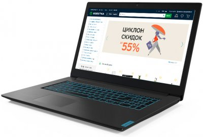 Ноутбук Lenovo IdeaPad L340-17IRH Gaming (81LL00K3RA) Granite Black