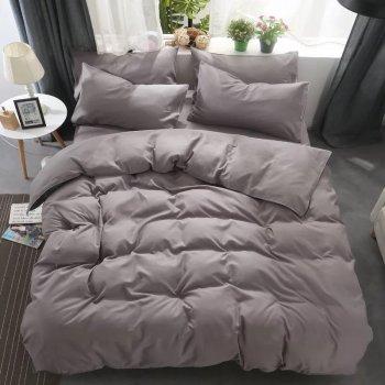 Комплект постельного белья Bella Villa Сатин 200x220 Кофейный (B-0273 Eu)