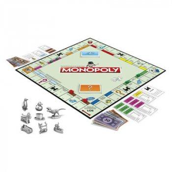 Гра настільна Hasbro gaming Монополія російською (C1009121) (10-528685)