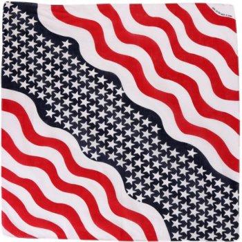 Платок-бандана Trаum 2519-20 Красная с синим и белым ( 4000002519209)