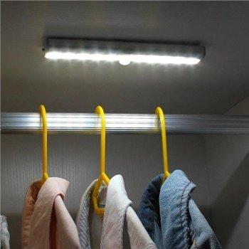 Бездротовий світлодіодний світильник з датчиком руху Motion Brite + батарейки