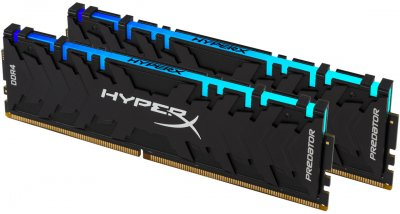 Оперативная память HyperX DDR4-3600 16384MB PC4-28800 (Kit of 2x8192) Predator RGB (HX436C17PB4AK2/16)