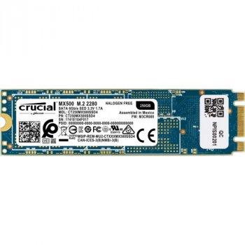 SSD 250GB Crucial MX500 M. 2 SATAIII TLC 3D NAND (CT250MX500SSD4)