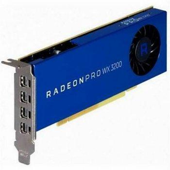 AMD Radeon Pro WX 3200 4GB GDDR5 HP (6YT68AA)