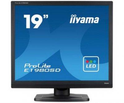 "Iiyama 19"" E1980SD-B1 Black"