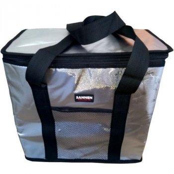 Термосумка на 25 літрів, сумка-холодильник Sannen Cooler Bag Silver