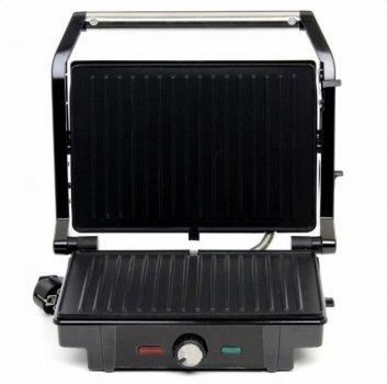 Гриль електричний контактний притискної Rainberg RB-5403 2500W Black/Silver