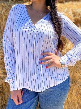 Блуза DNKA ат41330.1 Біла