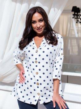 Блуза DNKA с41436 Біла