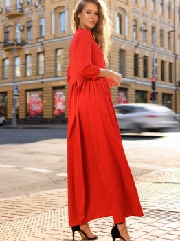 Платье DNKA с527 Красное