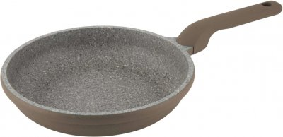 Сковорода CON BRIO Eco Granite Premium 20 см_Серый