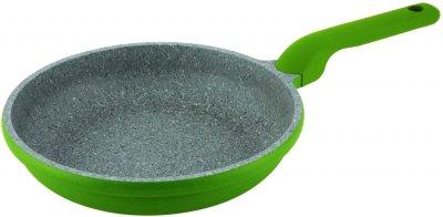 Сковорода CON BRIO Eco Granite Premium 20 см_Зеленый