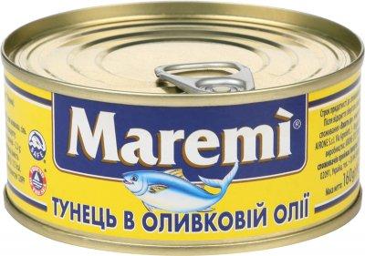 Тунец Maremi в оливковом масле 160 г (8001868000227)