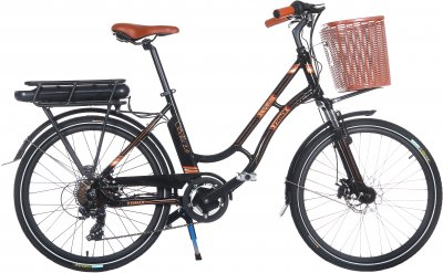 Електровелосипед TRINX E-Bike Sella 2.0 17 Black (Sella2_17.B)