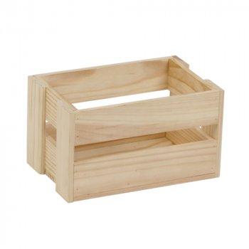 Ящик рейковий з дерева серії Аігу (10х11х17 см) WoodMood
