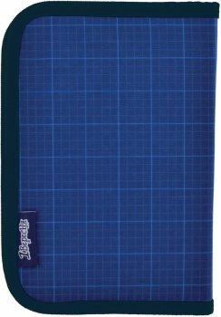 Пенал 1 Вересня Steel Force твердий одинарний без клапана 1 відділення Синій (532206)
