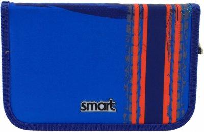 Пенал Smart Big Wheels твердый одинарный без клапана 1 отделение Разноцветный (532061)