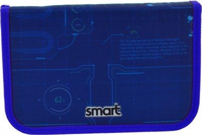 Пенал Smart Space твердий одинарний з двома клапанами 1 відділення Різнобарвний (532075)