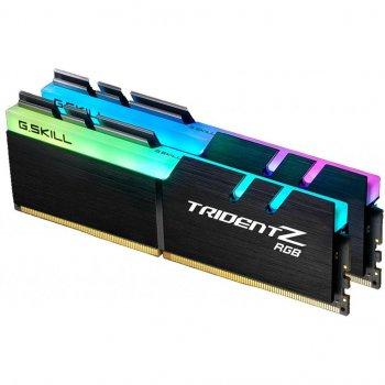 Модуль пам'яті для комп'ютера DDR4 16GB (2x8GB) 3600 MHz TridentZ RGB Black G. Skill (F4-3600C18D-16GTZR)