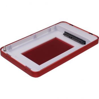 "Зовнішній кишеню Argus для HDD/SSD 2.5"" USB Type-C Red (GD-25609-RED)"