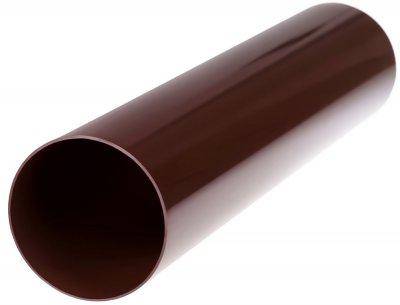Труба водостічна Profil 100/3 м Коричнева (5906775630037)