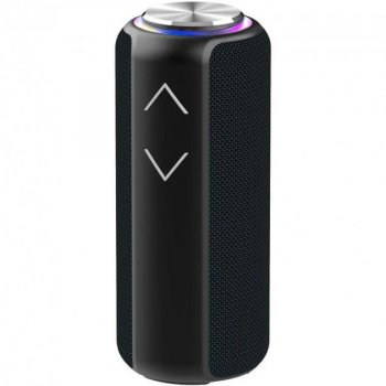 Портативна блютуз колонка Hopestar P30 pro бездротова з чистим звуком - Переносна музична акустична система з функцією TWS + водонепроникний корпус з потужним акумулятором, Black